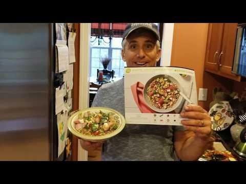 How to make Hello Fresh, Roasted Veggie Caprese Bowls w/ Farro & Balsamic Vinaigrette