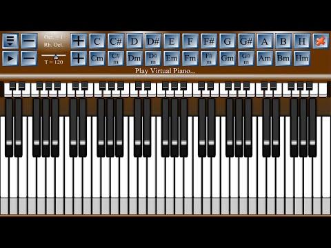 Piano virtual piano chords : Virtual Piano - Android Apps on Google Play