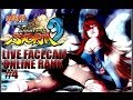 LIVE FACECAM RANK MATCHES 5 Naruto Shippuden Ultimate Ninja Storm 3 Online Gameplay