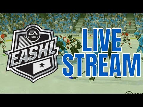 3s CLUB EASHL LIVESTREAM WITH Thrash94 Gaming and X-Snipes Gaming | NHL 18 ONLINE GAMEPLAY
