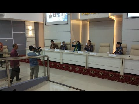 Tampung Aspirasi, LK FEB Unila Minta Balon Dekan Tandatangani Pakta Integritas
