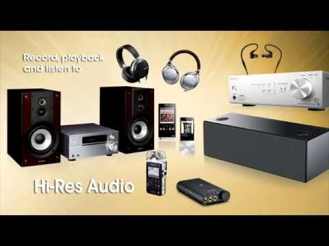 Sony - What is High-Resolution Audio? (Captions available)