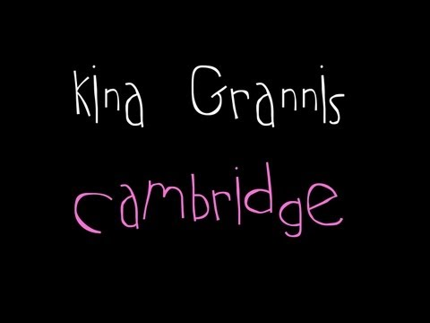 Kina Grannis - Cambridge (LYRICS ON SCREEN)
