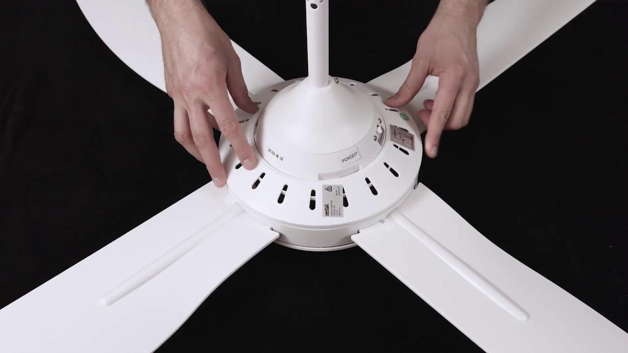 Deka Patent Ceiling Fan Installation Youtube
