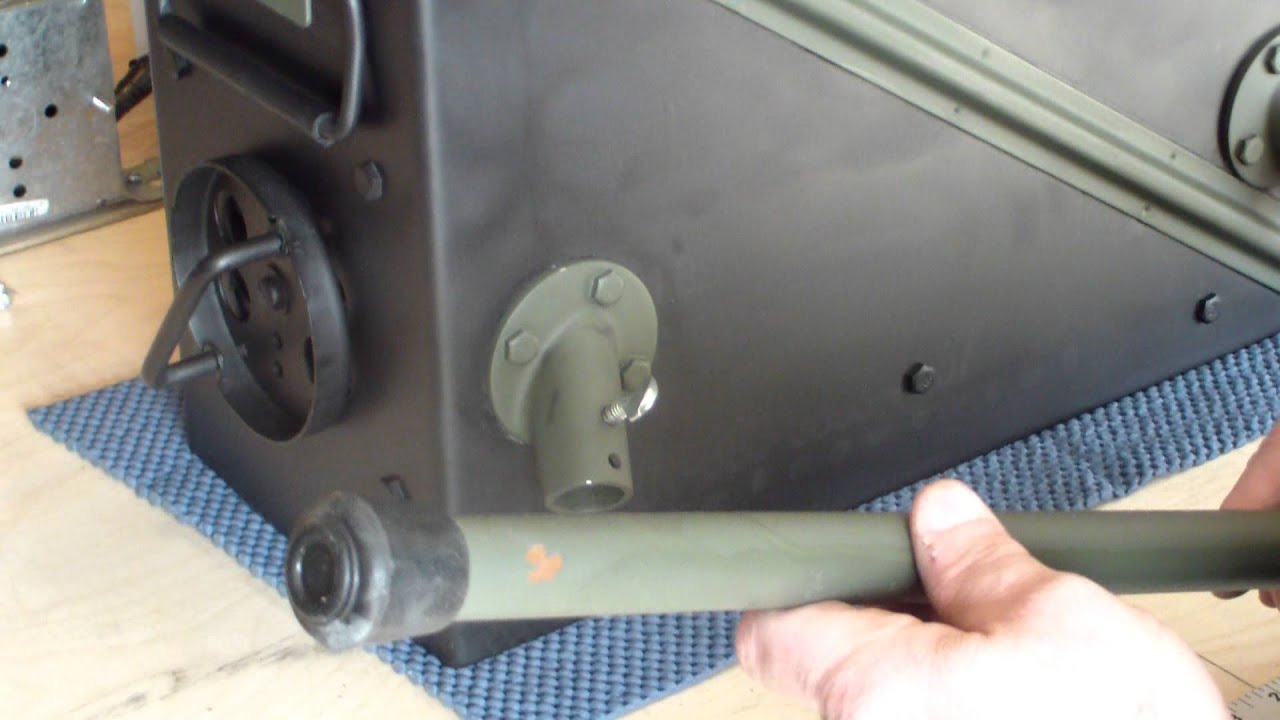 20mm Ammo Can Tent Stove Part 4 Of 5 Youtube