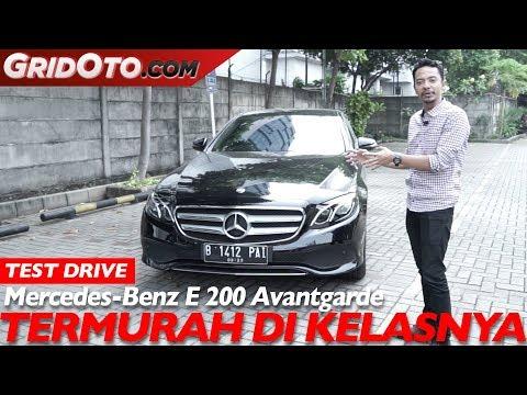 Mercedes Benz E 200 Avantgarde | Test Drive | GridOto