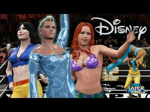 Disney Princess Battle Royale - Elsa vs Ariel vs Jasmine vs Tinkerbell vs Belle