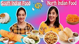 NORTH INDIAN FOOD vs SOUTH INDIAN FOOD CHALLENGE | With a Twist | Life Shots