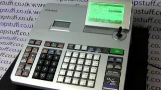 For more information visit: https://www.shopstuff.co.uk how to program departments on the casio se-s400 / se-s800 cash registers. please...