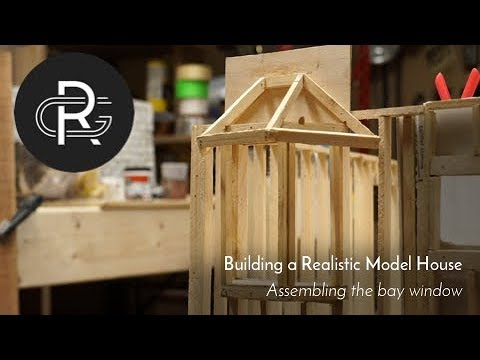 Making A Realistic Model House, Part 17: Assembling The Bay Window