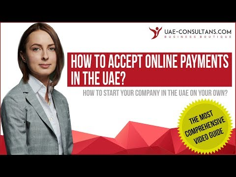 How to accept online payments for your business in the UAE