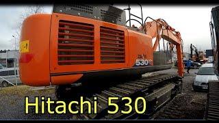 Hitachi ZX530LC Excavator Vs 300LC Steam Shovel