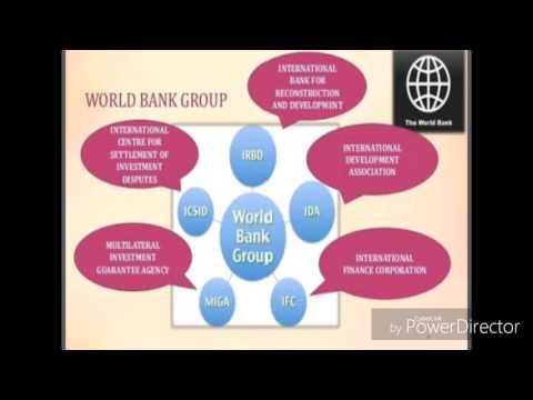 International economic institutions ( net, mcom, MBA)
