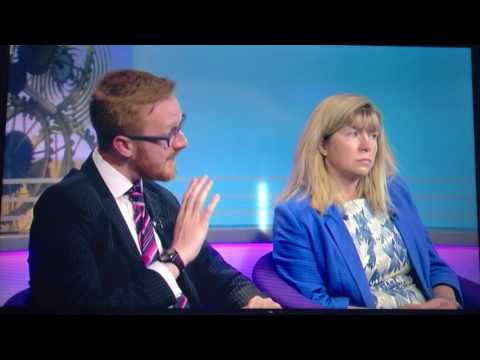 Maria Caulfield MP discussing the General Election on Sunday Politics South East