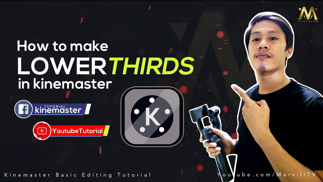 How to make Lower Third in Kinemaster