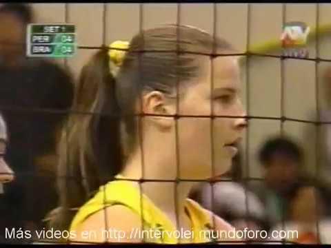 2006 U18 Volleyball South American Championship Brazil 3x0 Peru