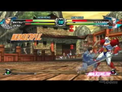 Tatsunoko vs. Capcom - Zero and Batsu