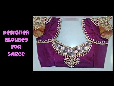Designer Blouses For Saree 2016