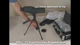 Good, Cheap Spotting Scope - Celestron 52228 50mm Refractor Zoom Spotting Scope Review