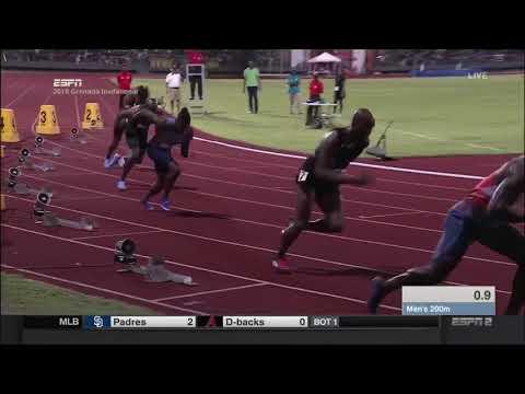 Lashawn Merritt 200m - Grenada Invitational