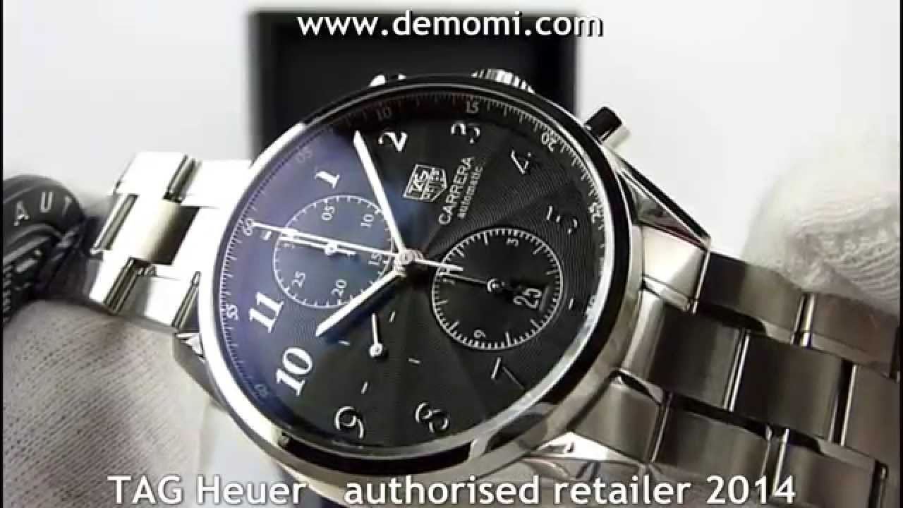 a02ad102971 TAG Heuer CAS2110 BA0730 Carrera caliber 16 Heritage Chronograph 41mm -  YouTube
