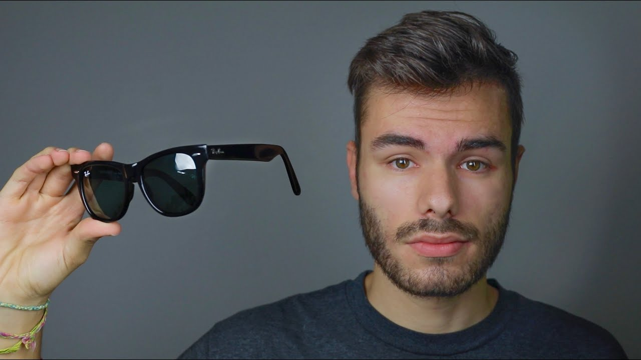 0dc5384ff How to Identify Fake Ray-Ban Original Wayfarer Classic - YouTube