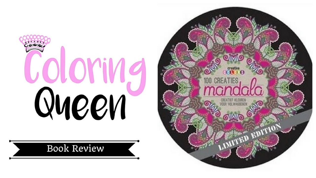 Mandala coloring pages amazon - 100 Creaties Mandalas 100 Creations Coloring Book Review