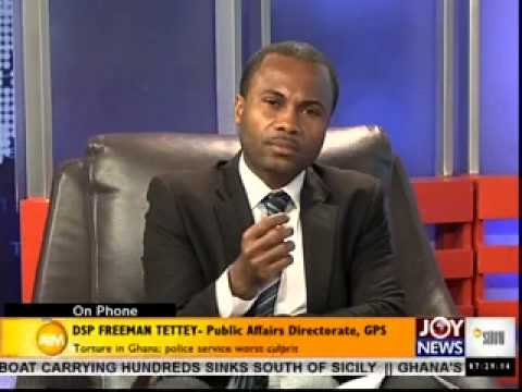 Torture in Ghana - AM Talk on Joy news (14-5-14)