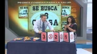 Doctor TV: Los 6 peores alimentos para la salud - 15/11/2012