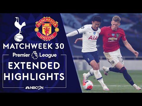 Tottenham v. Manchester United   PREMIER LEAGUE HIGHLIGHTS   6/19/2020   NBC Sports