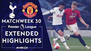 Tottenham v. Manchester United | PREMIER LEAGUE HIGHLIGHTS | 6/19/2020 | NBC Sports