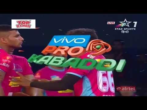 Gujarat FortuneGiants vs Jaipur Pink Panthers: Season 5, Match 6