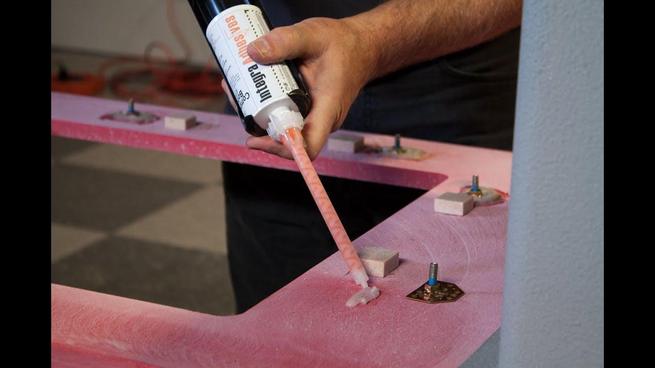 integra adhesives undermount sink installation