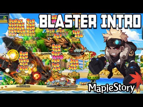 New Blaster Class : MapleStory GMS