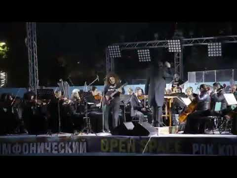 Симфонический рок концерт с участием Зиёд группа Уч-Кудук .