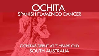 Flamenco dancer, ''Ochita'' dancing her very first debut at 7 years old thumbnail