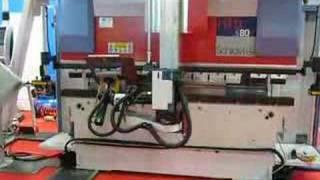 видео гибочный станок с чпу