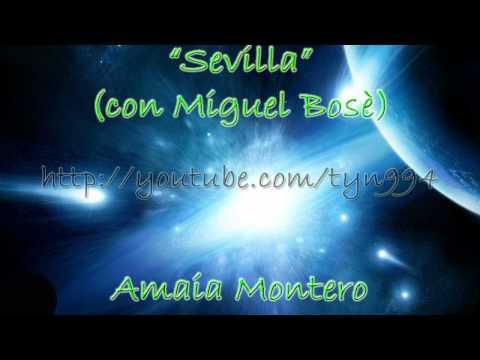 Sevilla - Amaia Montero con Miguel Bosè (Audio HD)