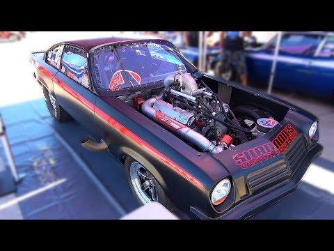 Shane McAlary at Outlaw Armageddon:  Video before his crash at Bristol TN