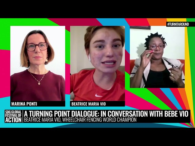 A Turning Point Dialogue: In Conversation with Bebe Vio (Spanish)