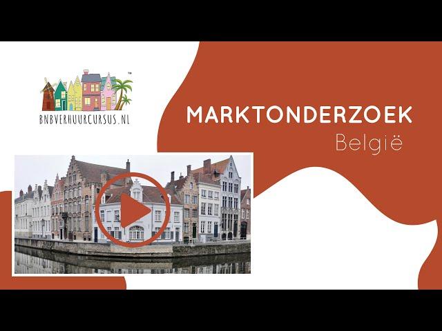 Marktonderzoek BNB verhuur België Geel