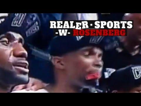Realer Sports - Ep19 - Chris Bosh Confetti Attack