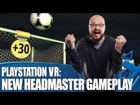PlayStation VR New Gameplay - The Headmaster Challenge on PS4