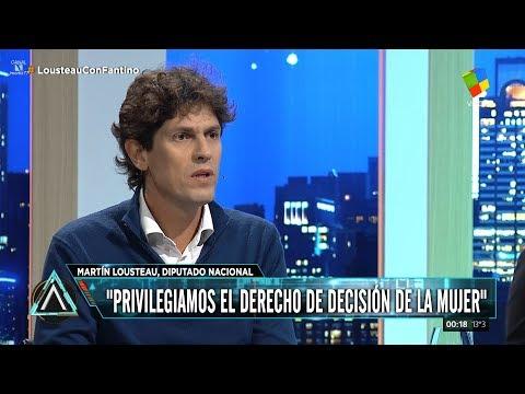 📡 Martín Lousteau con Fantino en Animales sueltos 11/06/2018