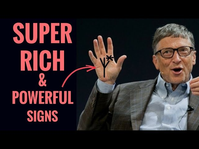 TOP 5 RICH AND POWERFUL SIGNS IN YOUR HANDS?-(MONEY LINES) PALMISTRY