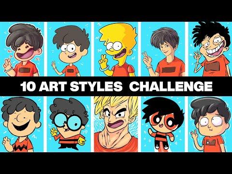 The 10 Art Styles Challenge