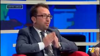 Alfonso Bonafede (M5S): Coffee Break - Renzi-Berlusconi Giustizia sotto sequestro