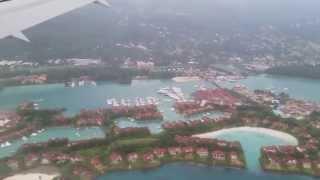 Landing Seychelles - Mahe International Airport