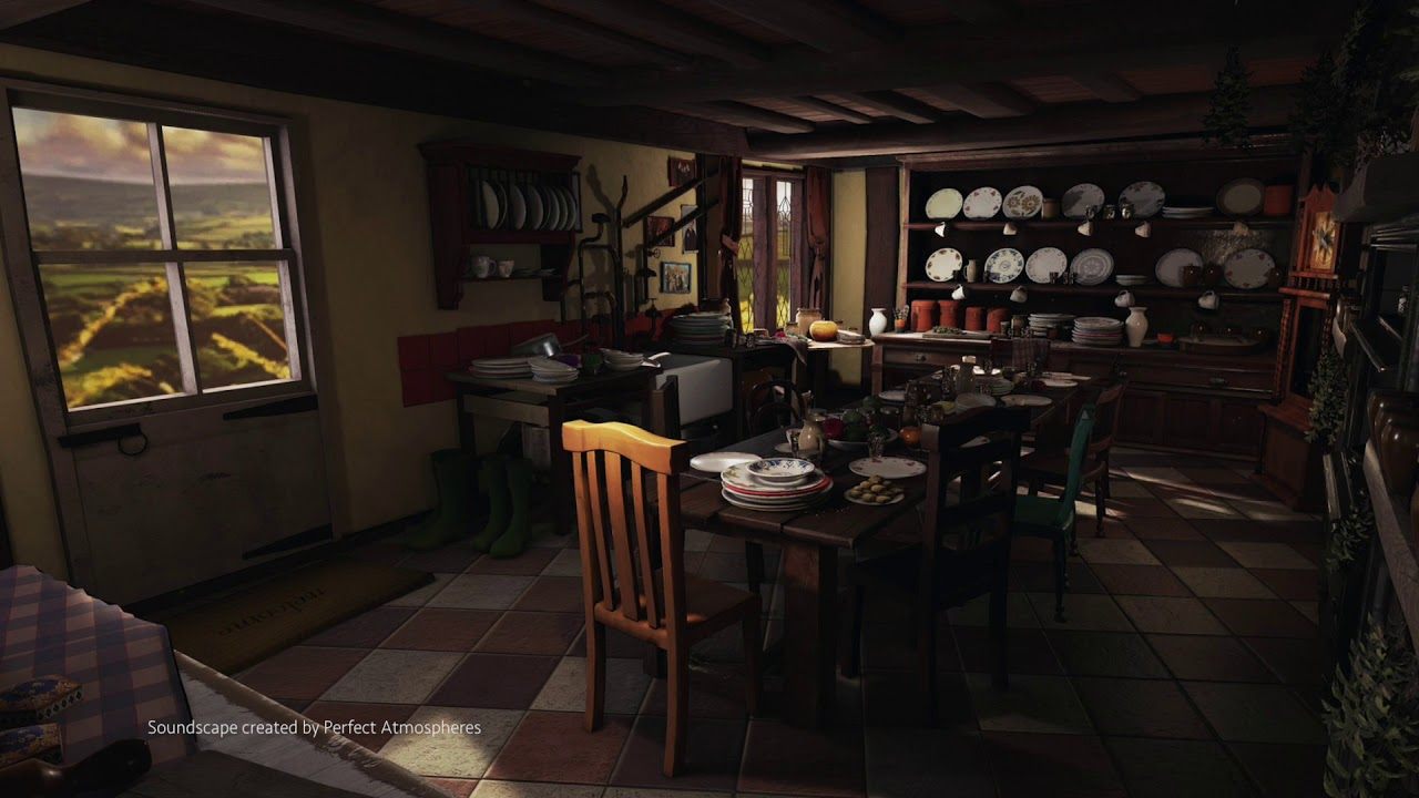 Asmr Weasleys Kitchen In The Morning Burrow Harry Potter Soundscape Ambience Jpg 1280x720