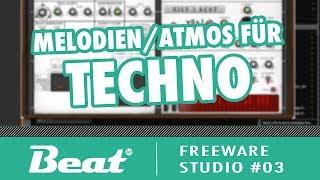 tutorial mit freeware melodieatmos für techno berghain tresor style freeware studio 03